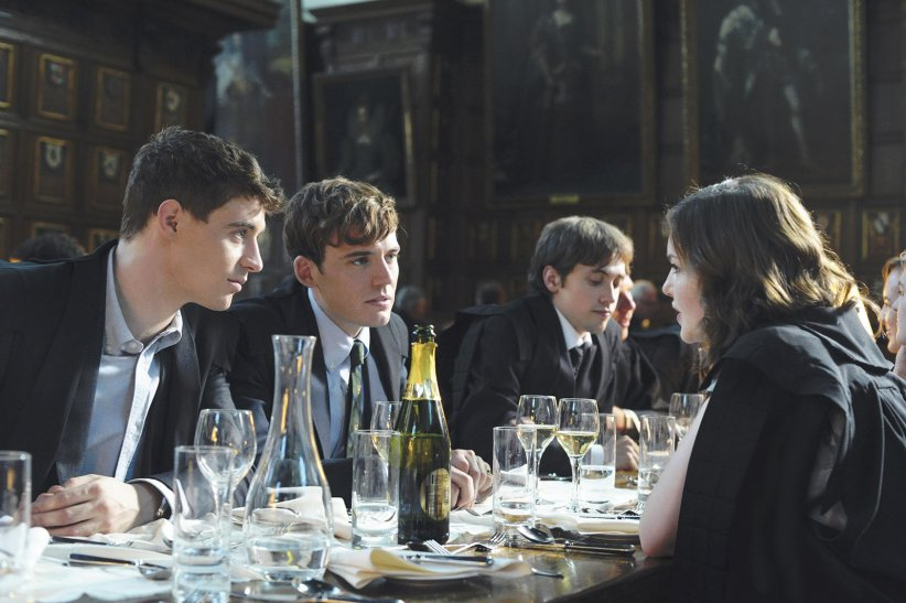 The Riot Club : Photo Holliday Grainger, Max Irons, Sam Claflin