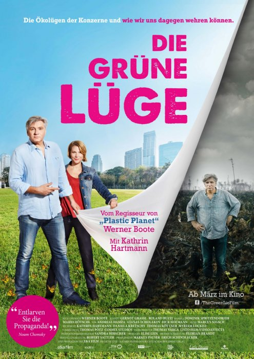 The Green Lie : Affiche
