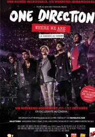 Affiche de One Direction: Where We Are - The Concert Film