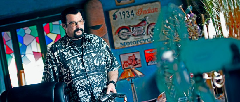 China Salesman : Photo Steven Seagal