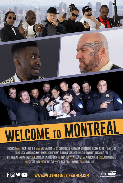 Welcome to Montréal : Affiche
