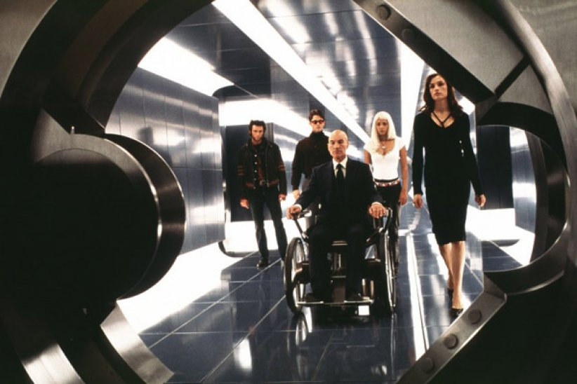 X-Men : Photo Famke Janssen, Halle Berry, Hugh Jackman, James Marsden, Patrick Stewart