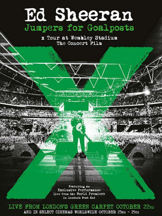 Ed Sheeran - Jumpers for Goalposts : Affiche