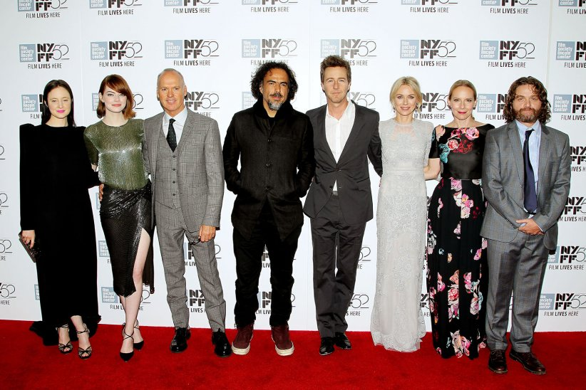 Birdman : Photo promotionnelle Alejandro González Iñárritu, Amy Ryan, Andrea Riseborough, Edward Norton, Emma Stone