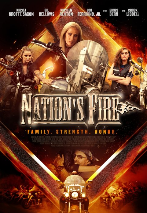 Nation's Fire : Affiche