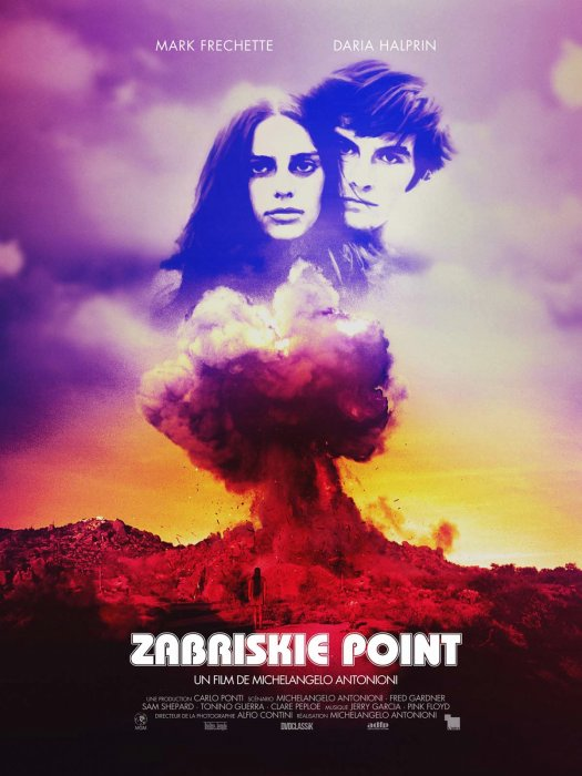 Zabriskie Point : Affiche