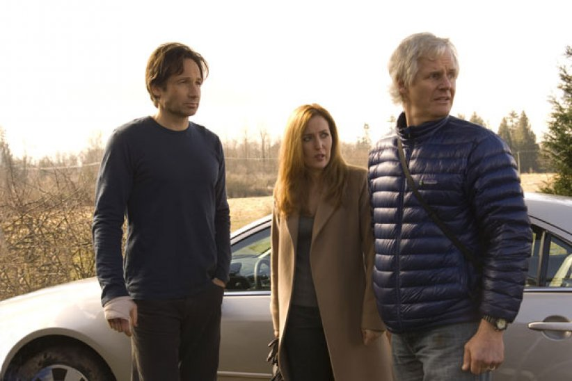 X Files - Régénération : photo Chris Carter, David Duchovny, Gillian Anderson