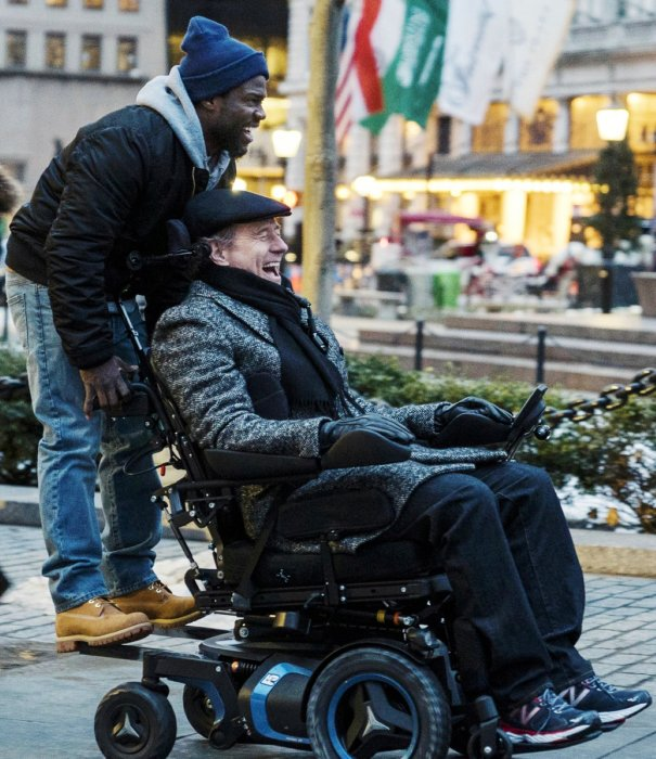 The Upside : Photo Bryan Cranston, Kevin Hart