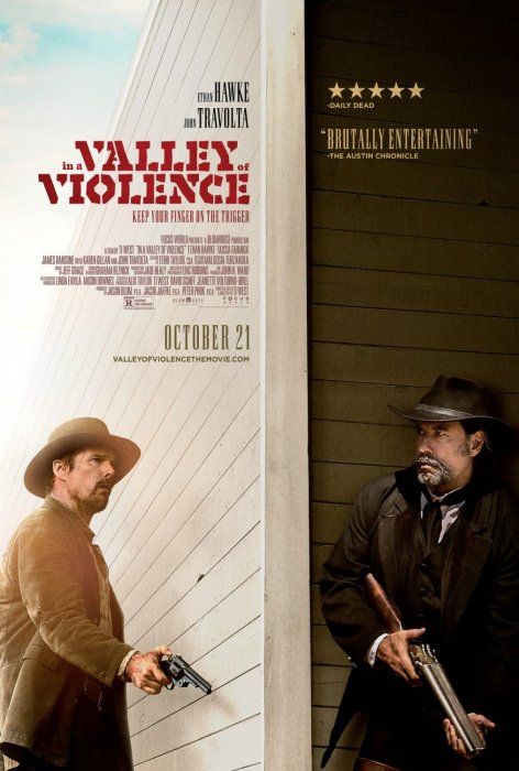 In A Valley Of Violence : Affiche
