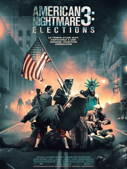American Nightmare 3 : Elections : Affiche