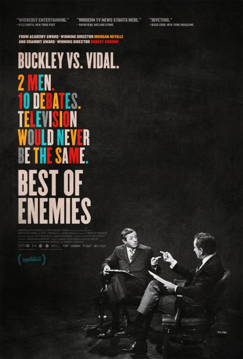 Best of Enemies : Affiche