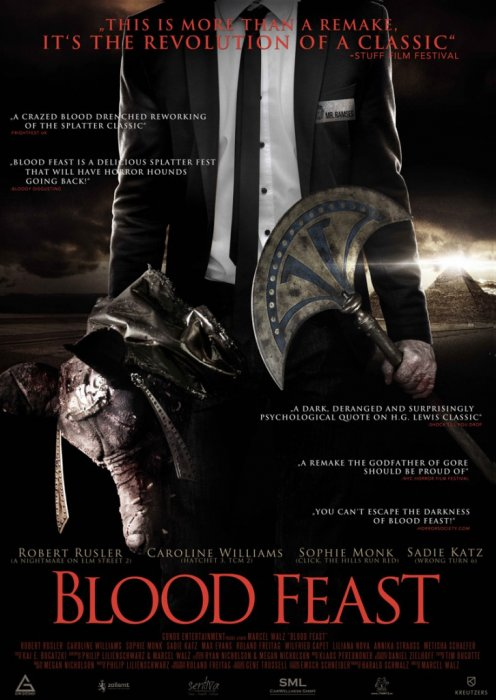 Blood Feast : Affiche