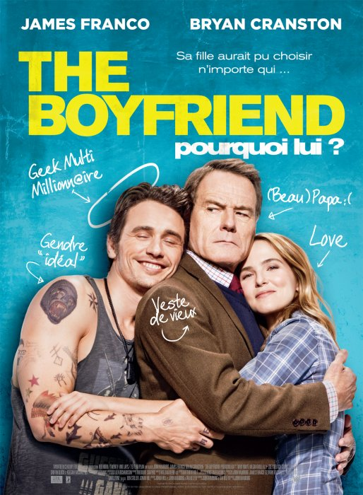 The Boyfriend - Pourquoi lui ? : Affiche