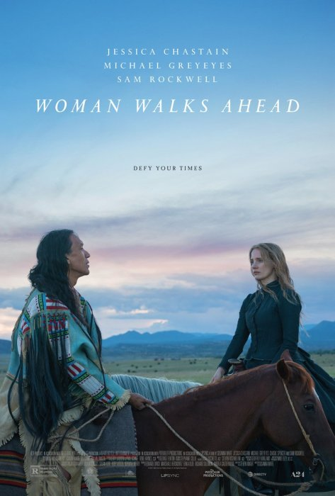 Woman Walks Ahead : Affiche