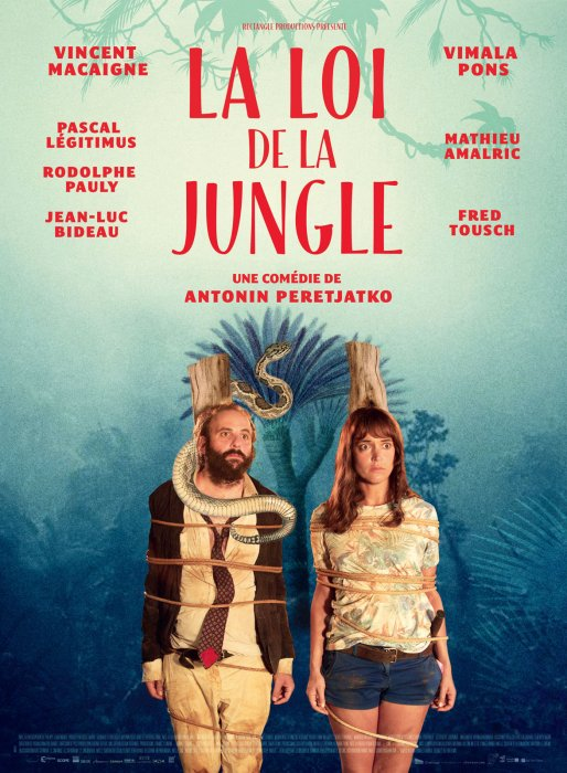 La Loi de la jungle : Affiche