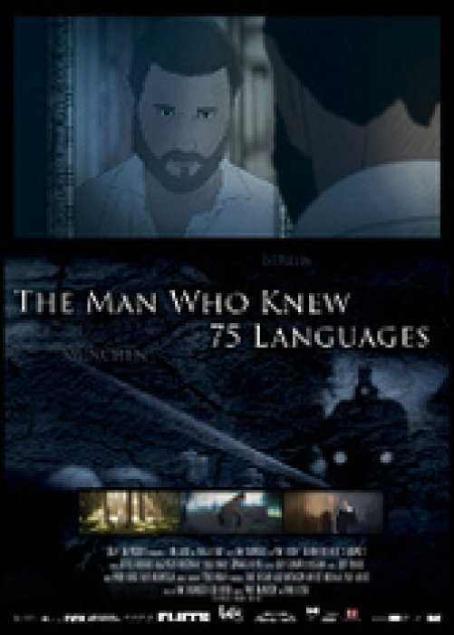 The Man Who Knew 75 Languages : Affiche