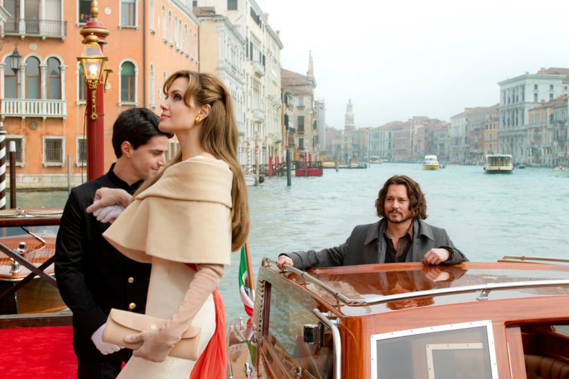 The Tourist : Photo Angelina Jolie, Florian Henckel von Donnersmarck, Johnny Depp