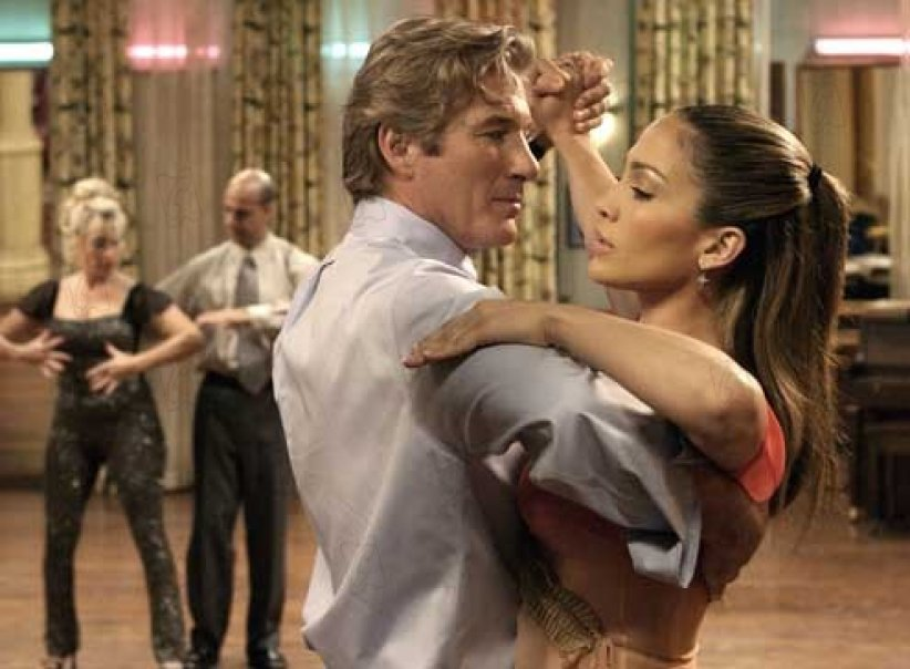 Shall we dance ? La Nouvelle vie de Monsieur Clark : Photo Jennifer Lopez, Peter Chelsom, Richard Gere