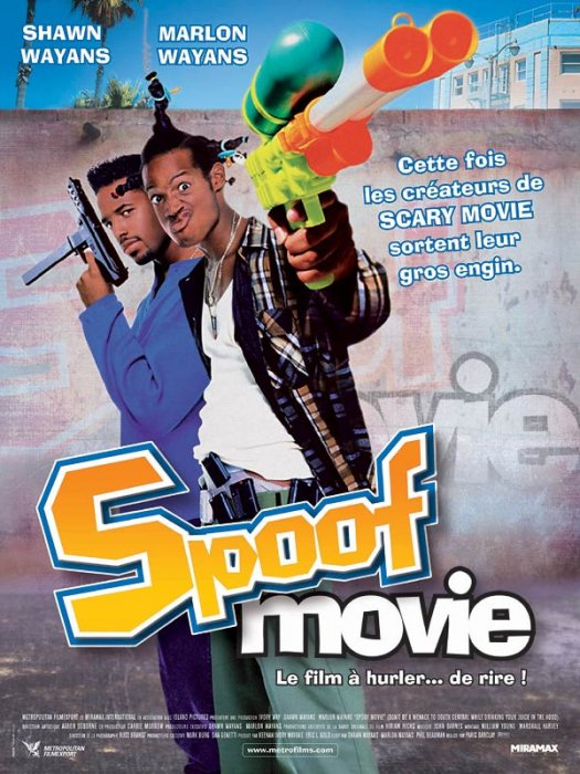 Spoof movie : Affiche Paris Barclay, Shawn Wayans