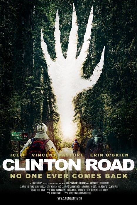 Clinton Road : Affiche