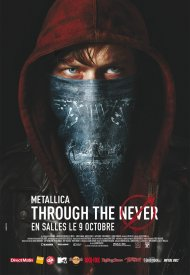 Affiche de Metallica Through the Never