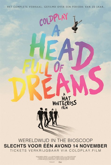 Coldplay: A Head Full of Dreams : Affiche