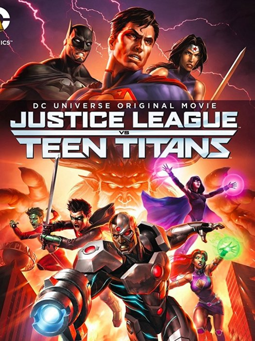 Justice League vs. Teen Titans : Affiche