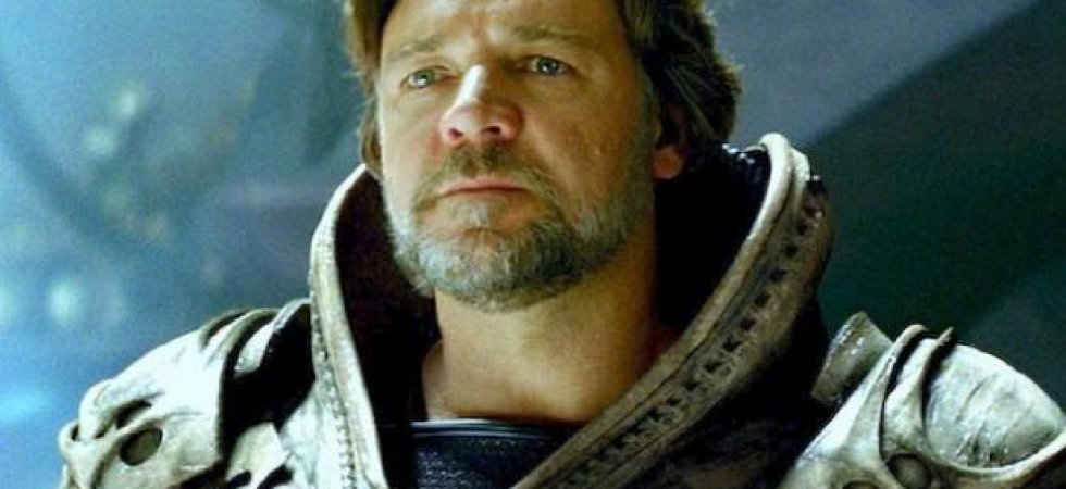 Russell Crowe partant pour Man of Steel 2