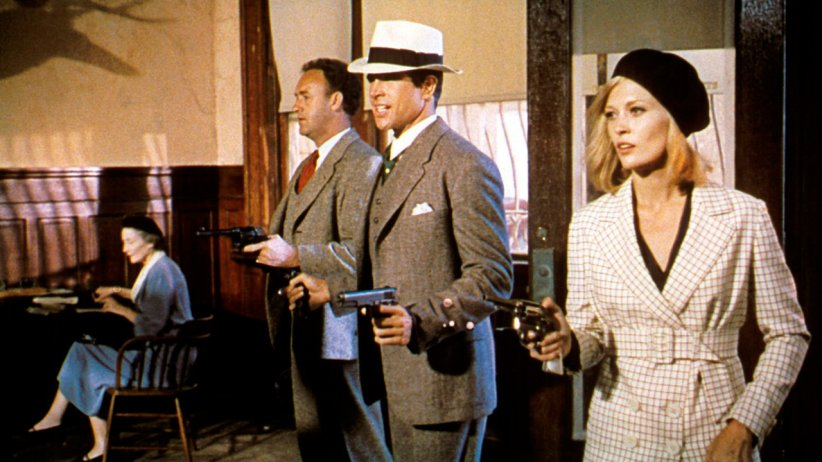 Bonnie et Clyde, les amants criminels