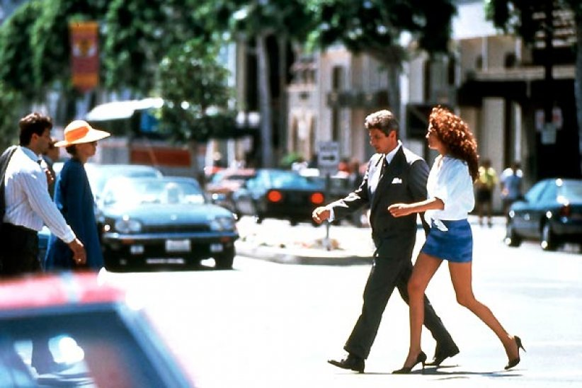 "Julia Roberts, alias Viv', dans ""Pretty Woman"" (1990)"