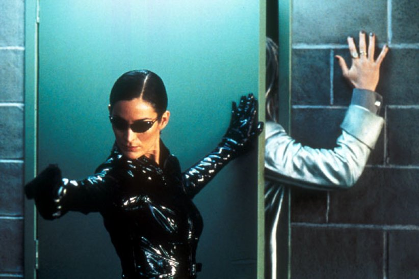 "Carrie-Anne Moss dans ""Matrix"""