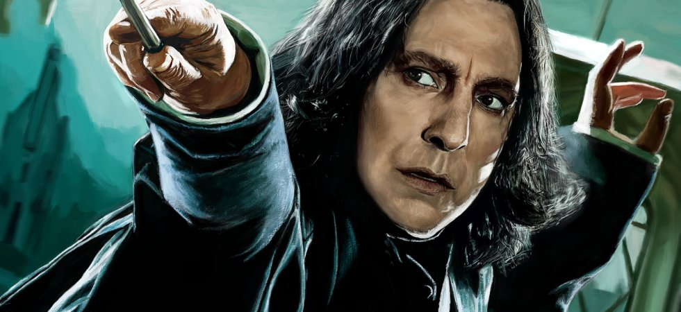 Harry Potter : J.K. Rowling avait confié un secret à Alan Rickman