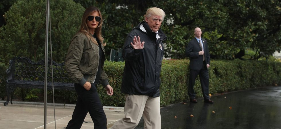Melania Trump au Texas : son look critiqué