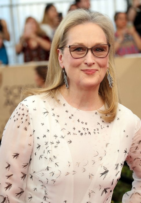 Meryl Streep lors de la 23e édition des Screen Actors Guild Awards à Los Angeles, le 29 janvier 2017.