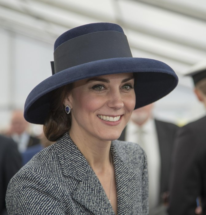 Kate Middleton en visite à Paris