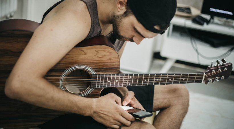 GuitarTuna, l'application pour accorder sa guitare