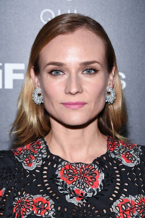 "Diane Kruger lors de la projection de son film ""Disorder"" à New York, le 9 août 2016."