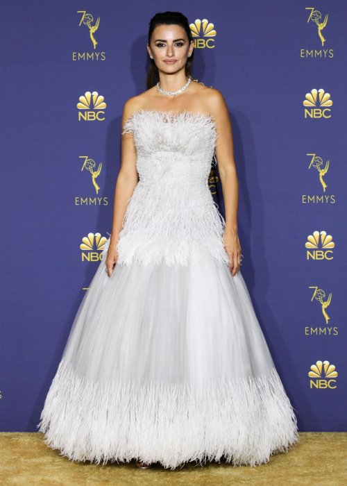 Penelope Cruz aux Emmy Awards 2018