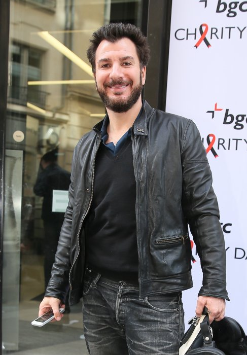 "Michaël Youn participe à la 11e édition du ""BGC Charity Day"" à Paris, le 11 septembre 2015."