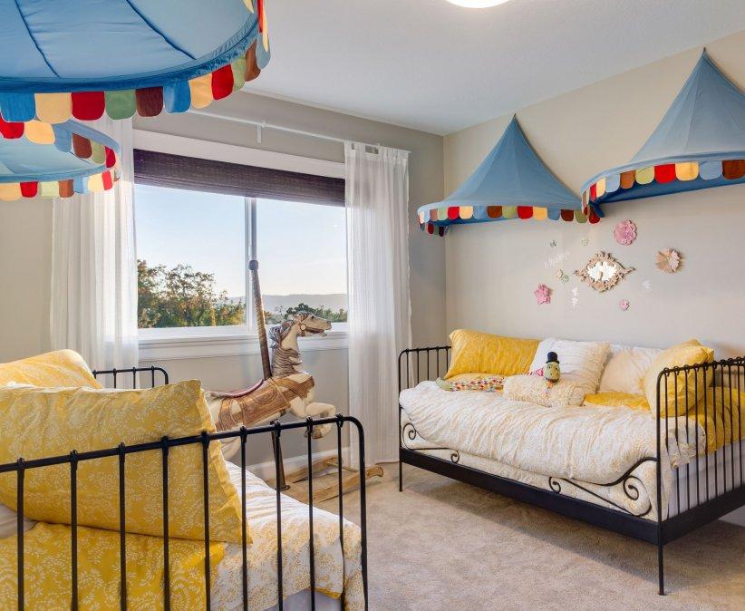 Déco : dix inspirations pour une chambre d\'enfants mixte