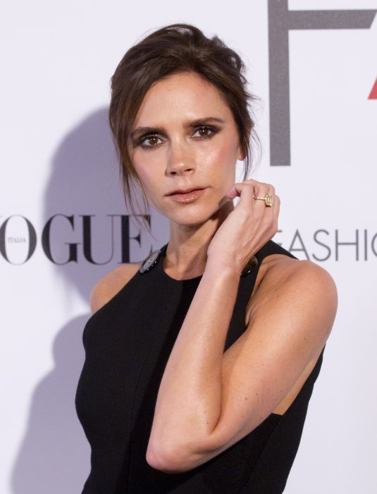 "Victoria Beckham assiste à l'événement annuel ""Fashion 4 Development - F4D First Ladies Luncheon"" à l'hôtel Pierre à New York, le 28 septembre 2015."
