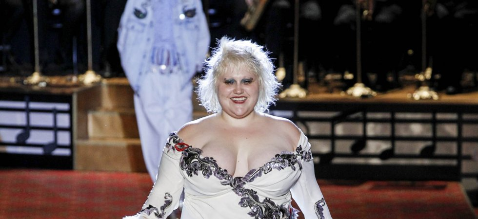 Fashion Week de New York : Beth Ditto défile pour Marc Jacobs