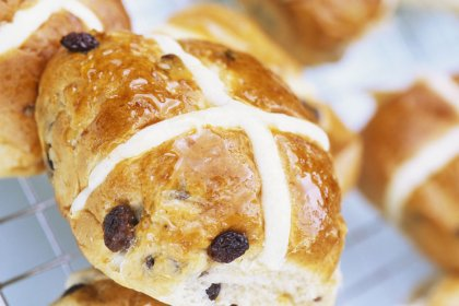 "Hot cross buns, les petits pains briochés ""so british"""