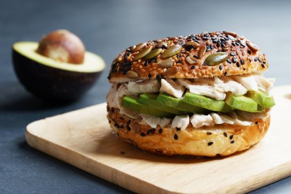 Sandwich healthy poulet avocat