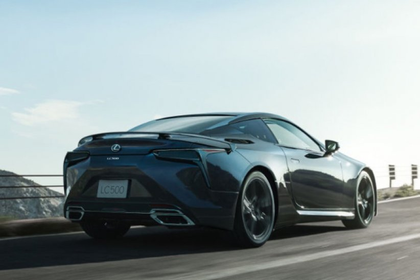 Lexus LC Aviation : pour le Japon