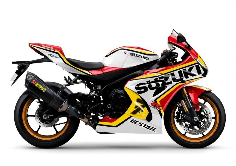 Suzuki GSX-R1000R replica Barry Sheene 1977