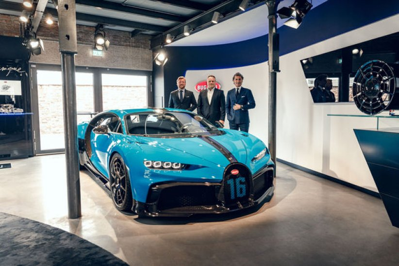 La Bugatti Chiron Pur Sport poursuit son tour d'Europe