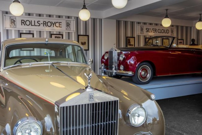 Goodwood : Rolls-Royce s'expose