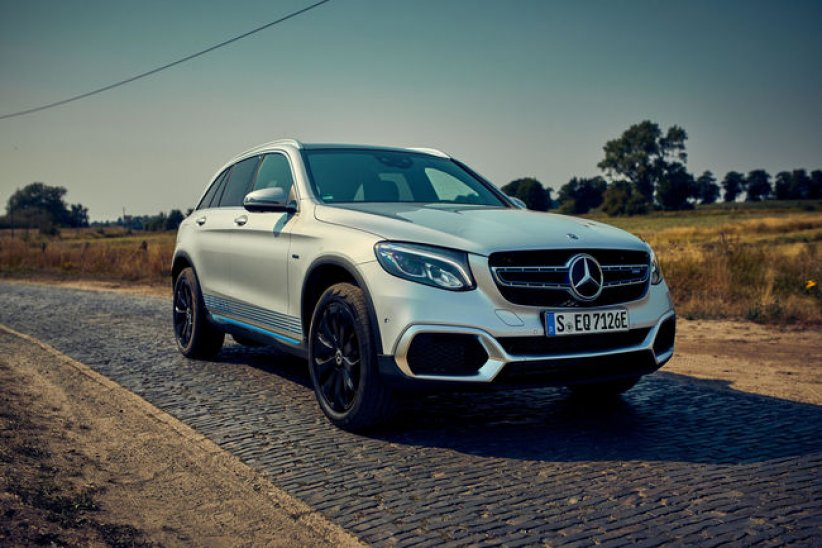 Mercedes GLC F-Cell : en piste