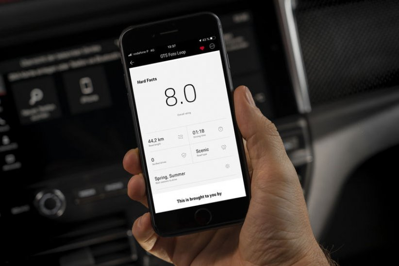 Porsche perfectionne l'application ROADS